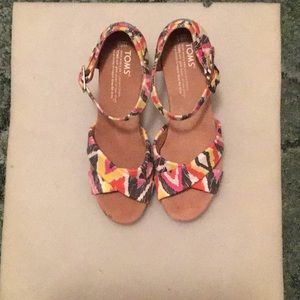 Toms Wedge Heel Sandals
